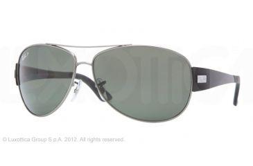 Ray-Ban RB3467 Bifocal Prescription Sunglasses RB3467-004-9A-63 - Lens Diameter 63 mm, Lens Diameter 63 mm, Frame Color Gunmetal