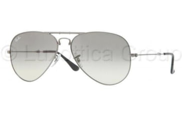 Ray-Ban RB3479 Single Vision Prescription Sunglasses RB3479-004-32-5514 - Lens Diameter 55 mm, Frame Color Gunmetal