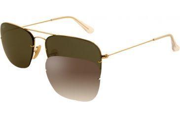 Ray-Ban RB3482 Sunglasses 001/71-5915 - Arista Frame, Green Lenses
