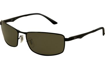 ad00281750 Ray-Ban RB3498 Sunglasses 002 71-6117 - Black Frame