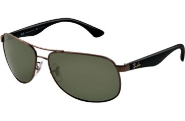 21bed72918 Ray-Ban RB3502 Sunglasses 004 58-6114 - Gunmetal Frame