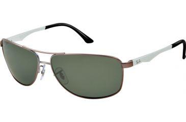 ec9f4db28b Ray-Ban RB3506 Single Vision Prescription Sunglasses RB3506-029-9A-64 -