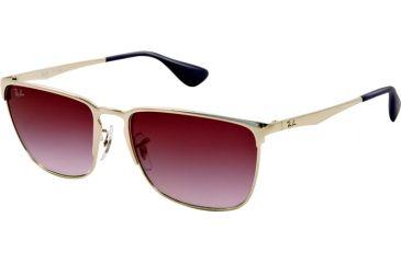 Ray-Ban RB3508 Bifocal Prescription Sunglasses RB3508-003-8H-56 - Lens Diameter 56 mm, Lens Diameter 56 mm, Frame Color Silver