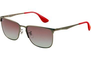 Ray-Ban RB3508 Bifocal Prescription Sunglasses RB3508-029-11-56 - Lens Diameter 56 mm, Lens Diameter 56 mm, Frame Color Matte Gunmetal