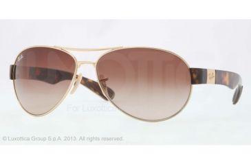 Ray-Ban RB3509 Bifocal Prescription Sunglasses RB3509-001-13-66 - Lens Diameter 66 mm, Frame Color Arista