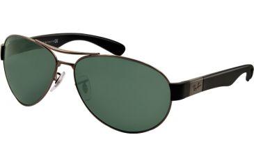 Ray-Ban RB3509 Bifocal Prescription Sunglasses RB3509-004-71-63 - Lens Diameter 63 mm, Lens Diameter 63 mm, Frame Color Gunmetal