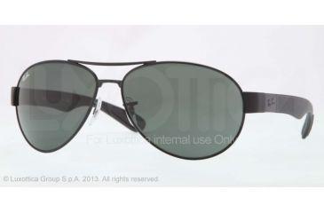 Ray-Ban RB3509 Bifocal Prescription Sunglasses RB3509-006-71-66 - Lens Diameter 66 mm, Frame Color Matte Black