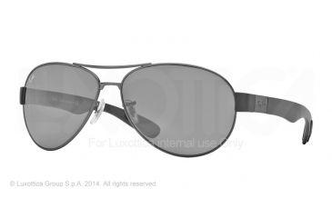 Ray-Ban RB3509 Bifocal Prescription Sunglasses RB3509-029-6G-63 - Lens Diameter 63 mm, Frame Color Matte Gunmetal