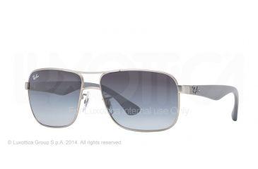 67be25ec2de Ray-Ban RB3516 Sunglasses 019 8G-62 - Matte Silver Frame