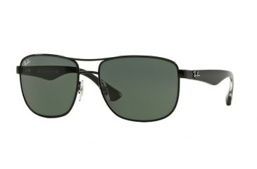 f0a6cf2cfed3c Ray-Ban RB3533 Sunglasses 002 71-57 - Black Frame