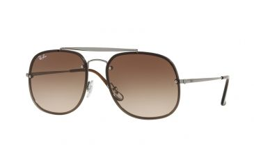 226bcb9806aab8 Ray-Ban RB3583N Sunglasses 004 13-58 - Gunmetal Frame, Brown Gradient