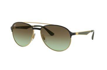 776fa3e36d Ray-Ban RB3606 Sunglasses 9076E8-59 - Gold On Top Matte Black Frame