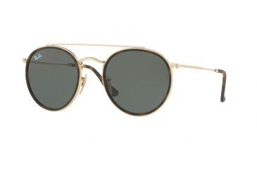 f4ecb431d3d Ray-Ban RB3647N Sunglasses 001-51 - Gold Frame