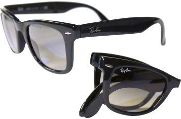 Ray-Ban RB4105 SV Prescription Sunglasses - Black Frame / 54 mm Prescription Lenses, 601-5420
