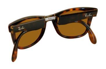 Ray-Ban RB4105 SV Prescription Sunglasses - Light Havana Frame / 50 mm Prescription Lenses, 710-5022