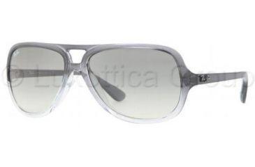 347a8ffb05 Ray-Ban RB4162 Sunglasses 818 32-5915 - Gray Gradient Transparen Crystal  Gray