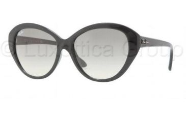 Ray-Ban RB4163 Progressive Prescription Sunglasses RB4163-601-32-5515 - Lens Diameter: 55 mm, Frame Color: Black