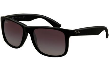 Ray-Ban RB4165 Sunglasses 601/8G-55 - Rubber Black