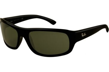 a2f26580b2 Ray-Ban RB4166 Sunglasses 622-62 - Black Rubber Frame