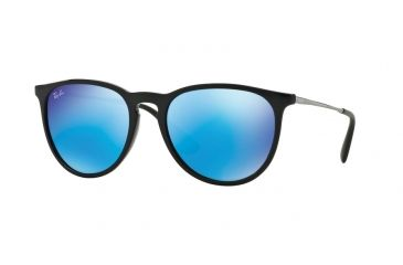0c727c05bf1 Ray-Ban ERIKA RB4171 Progressive Prescription Sunglasses RB4171-601-55-54 -