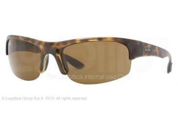 Ray-Ban RB4173 RB4173 Bifocal Prescription Sunglasses RB4173-710-73-62 - Lens Diameter 62 mm, Frame Color Light Havana