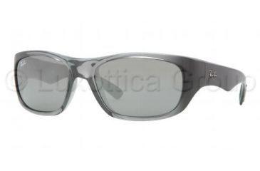 b0b8030a07 Ray-Ban RB4177 Sunglasses 621 40-5818 - Transparent Gray Frame