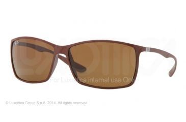 Ray-Ban RB4179 Sunglasses 881/73-62 - Matte Brown Frame, Brown Lenses