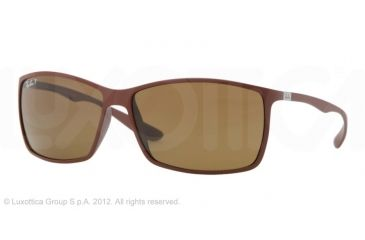 Ray-Ban RB4179 Sunglasses - Matte Brown Frame, Polarized Brown Lenses 881/83-6213