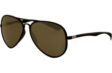 Ray-Ban RB4180 Progressive Prescription Sunglasses RB4180-601S71-5813 - Lens Diameter 58 mm, Frame Color Matte Black