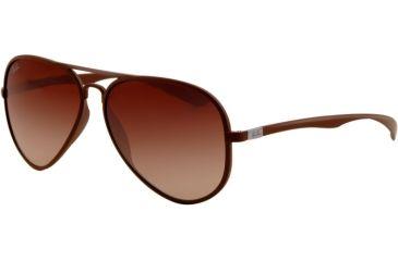 bd7a946136bf7 Ray-Ban RB4180 Single Vision Prescription Sunglasses RB4180-881-13-5813 -