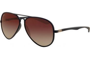 Ray-Ban RB4180 Progressive Prescription Sunglasses RB4180-883-8G-5813 - Lens Diameter 58 mm, Frame Color Matte Blue
