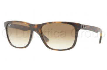 Ray-Ban RB4181 Sunglasses 710/51-5716 - Light Havana Frame, Crystal Brown Gradient Lenses