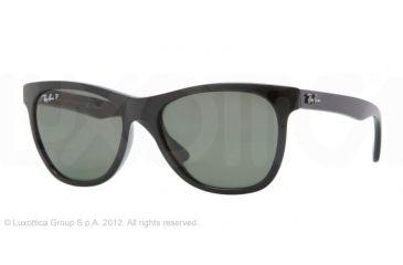 Ray-Ban RB4184 Sunglasses 601/9A-5417 - Black Frame, Green Lenses