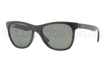 Ray-Ban RB4184 Sunglasses 601/9A-5417 - Black Frame, Green Lenses
