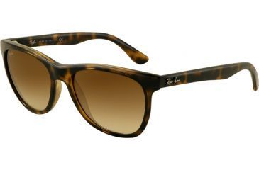 62b6eca3fb Ray-Ban RB4184 Sunglasses 710 51-5417 - Light Havana Frame