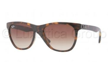 Ray-Ban RB4184 Sunglasses 710/51-5417 - Light Havana Frame, Crystal Brown Gradient Lenses