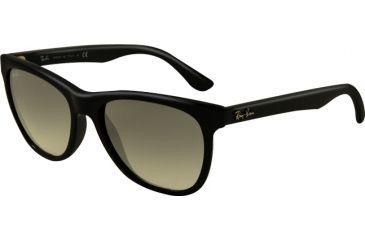Ray-Ban RB4184 Sunglasses- Black Frame, Crystal Gray Gradient Lenses 601/32-5417