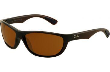 2894159bb5a ... usa ray ban rb4188 sunglasses 600773 6317 shiny brown frame brown lenses  558f3 178bb