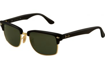 Ray-Ban RB4190 Sunglasses 601-5219 - Black/Arista Frame, Crystal Green Lenses