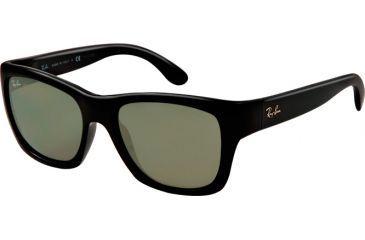 Ray-Ban RB4194 Sunglasses 601-53 - Black Frame, Crystal Green Lenses