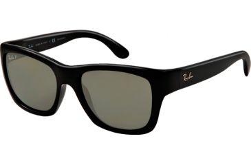 Ray-Ban RB4194 Sunglasses 601/9A-53 - Black Frame, polar green Lenses