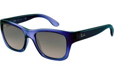 Ray-Ban RB4194 Sunglasses 603171-53 - Blue Demi Gloss Frame, crystal grey gradient azure Lenses