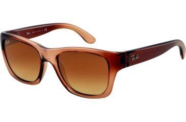 Ray-Ban RB4194 Sunglasses 603285-53 - Brown Demi Gloss Frame, Gradient Brown Lenses