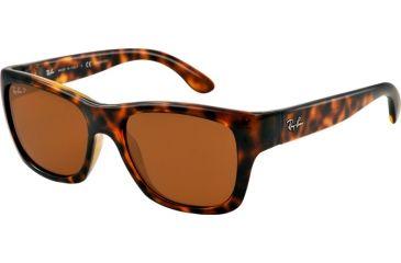 Ray-Ban RB4194 Sunglasses 710/83-53 - Light Havana Frame, Polar Brown Lenses