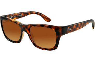 Ray-Ban RB4194 Sunglasses 710/85-53 - Light Havana Frame, Gradient Brown Lenses