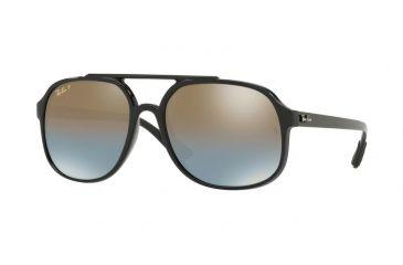 Ray-Ban RB4312CH Sunglasses 601 J0-57 - Black Frame, Blue Mir db63f4127be5