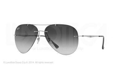 92cd101e873a6 ... netherlands ray ban rb8055 sunglasses 159 8g 59 titanium frame gradient  grey 72f5f 9d13f