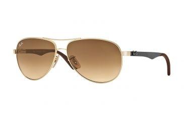 697c27e12c5 Ray-Ban RB8313 Single Vision Prescription Sunglasses RB8313-001-51-5813 -