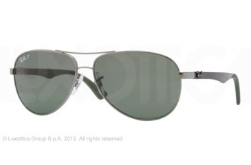 Ray-Ban RB8313 Sunglasses 004/N5-5813 - Gunmetal Frame, Polarized Grey Lenses