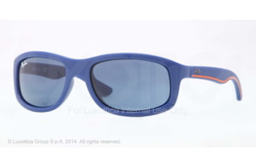 Ray-Ban RJ9058S Single Vision Prescription Sunglasses RJ9058S-700080-50 - Lens Diameter 50 mm, Frame Color Matte Blue